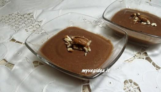 budino cacao e noci pecan