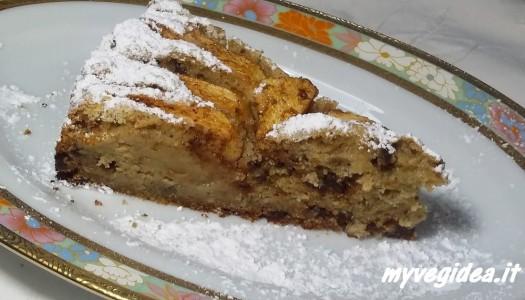 torta di mele sugar free con farina di mais