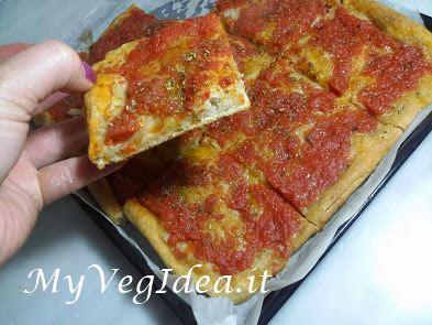 pizza con fagioli (si, proprio fagioli)