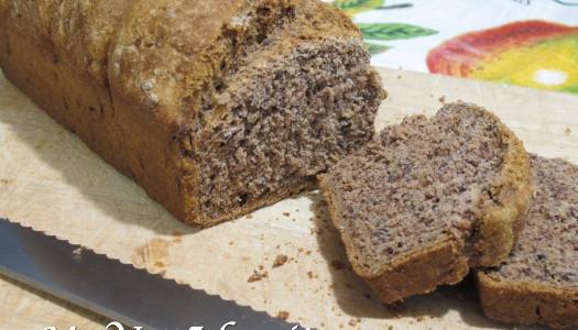 SODA BREAD (con farina di farro e lenticchie)