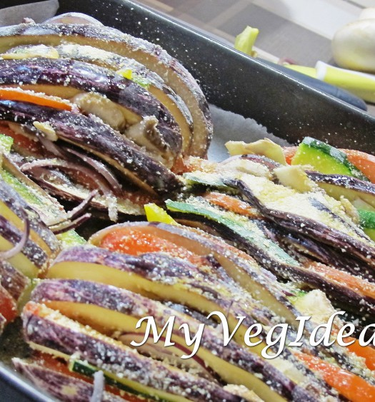 melanzane zucchine patate ripirene al forno