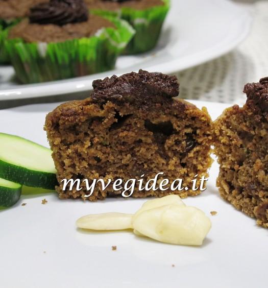 muffin 24 novembre zucchine mandorle cacao 2