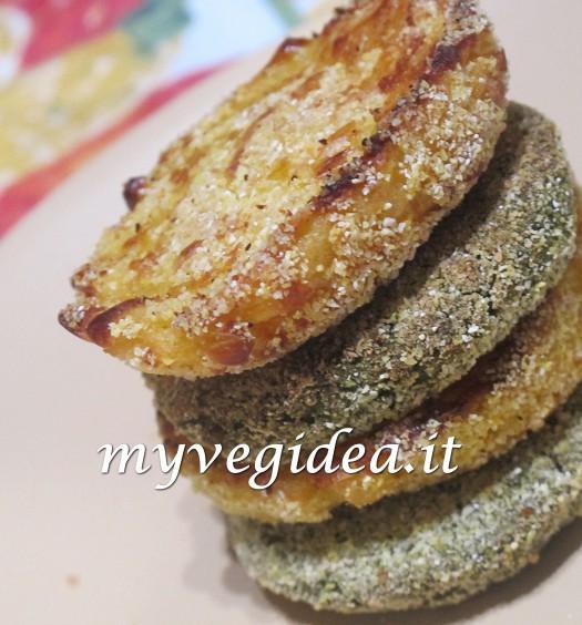 polpette patate spinaci fagioli mais 1 dice