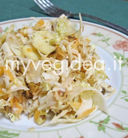 insalata verza bata carota  20 gennaio