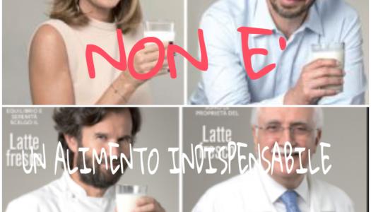 IL LATTE NON E' INDISPENSABILE