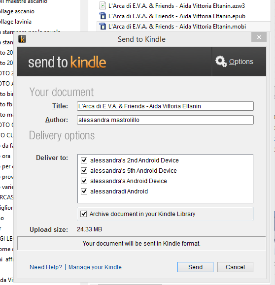 traferimento-send-to-kindle