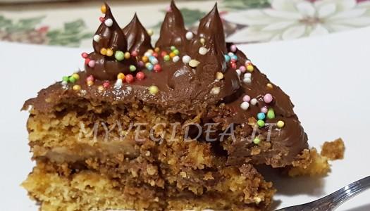 ALBERO DI NATALE torta ghiotta